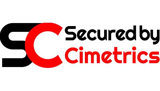 SecuredByCimetrics logo